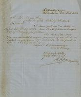 Letter from W. R. Pettes to A. B. Noyes, February 25, 1864