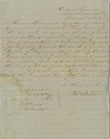 Letter from Thomas Barnard to A. B. Noyes, December 1862