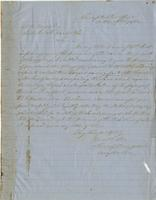 Letter from the Comptroller's Office to A. B. Noyes, October 17, 1862