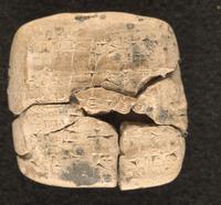 Sealed summary of regular offerings over fourteen months, 2035 - 2034 BCE