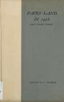Fairyland in 1918, and other poems