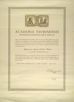 Academy of Sciences of Turin Award