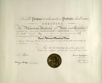 American Academy of Arts and Sciences Award