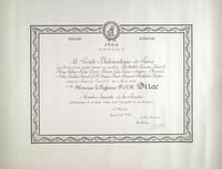 French Philomatique Society Award