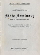 Catalogue of the Seminary West of the Suwannee River