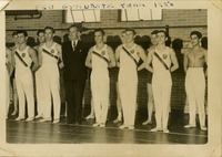1950 Varsity Gymnastics Team