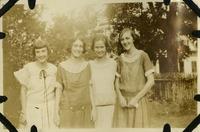 Edith, Fannie, Emilie, and Bessie Blackburn