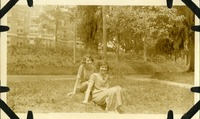 Fannie Blackburn and Florence Pierpont