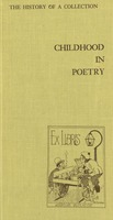 Childhood in poetry: the forty-year history of a collection, 1929-1969