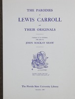 parodies of Lewis Carroll and their originals