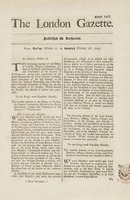 The London Gazette: Published by Authority