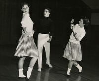 1955 Modern Dance Group Performance