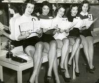 1955 Miss Gymkana Finalists
