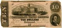 Ten Dollar Note, 1862