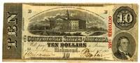 Ten Dollar Note, 1863