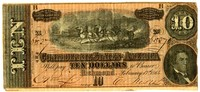 Ten Dollar Note, 1864