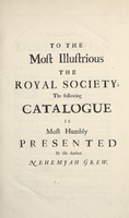 Musaeum Regalis Societatis, or A catalogue & description of the natural and artificial rarities belonging to the Royal Society and preserved at Gresham Colledge (Page 10)