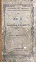 American economical housekeeper, and family receipt book