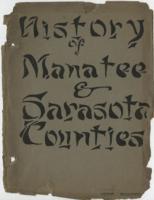History of Manatee and Sarasota Counties