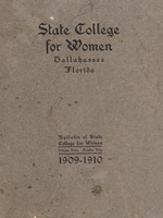 Bulletin of State College for Women 1909-1910
