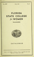 Florida State College for Women Catalogue