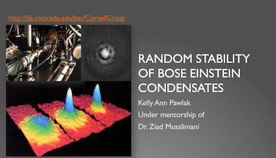 Stability of Bose-Einstein Condensates in a Random Potential