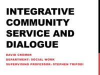 Integrative Community Service Project and Race Relations