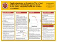 Acute Stress and Self-Control