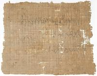 [Banknote, 87 - 86 BCE, of Phanias son of Ptolemaios to Protarchos, banker]