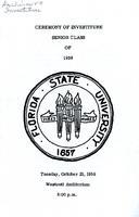 Class of 1959 Investiture