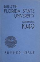 Bulletin Florida State University: Summer Issue