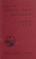Florida State University Graduate Issue