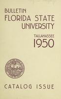 Florida State University Catalog Issue