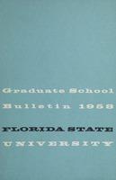 Florida State University Bulletin Graduate School