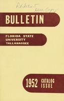 Florida State University Bulletin Catalog Issue