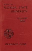 Florida State University Bulletin Graduate Issue