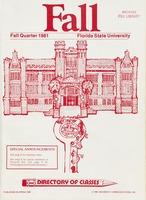 Fall Quarter 1981: Directory of Classes