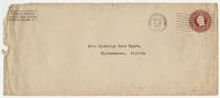 """Letter addressed to """"Dear Cousin Susan"""" from Burton Craige"""