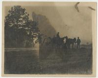 Hunting party at Griscon Plantation
