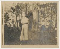 Alligator hunt, Miss Frances Griscon et al.