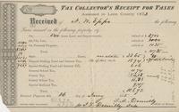 1875 Tax Receipt