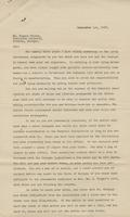 Letter from Samuel H. Venable to Rogers Winters concerning the use of funds by the Stone Mountain Memorial Association