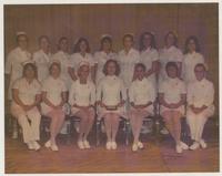 1970s Nursing School Class
