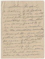 Letter addressed to Mrs. Nicholas Ware Eppes, Tallahassee, Fla.
