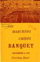 Program for the Marching Chiefs Banquet (1958)