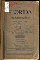 Florida, an advancing state, 1907-1917-1927.