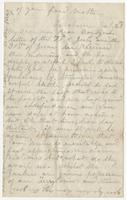 Letter to Nicholas Ware Eppes from his mother