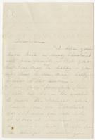 """Letter addressed to """"Mrs. N. W. Eppes"""""""