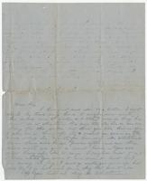 Letter and note to Susan Bradford