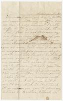Letter from Tallahassee, Nov. 20